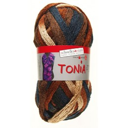 Laine Tonia camel marron