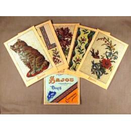 Cartes postales Tapisserie petit point