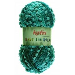 Laine écharpe Rocio plus turquoise