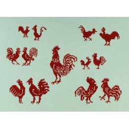 Coqs rouges