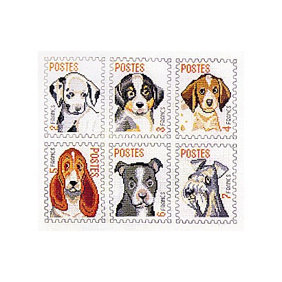 Timbres chiens