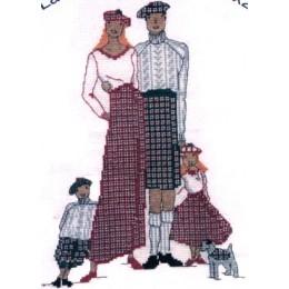 La famille écossaise