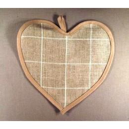 Coeur à carreaux