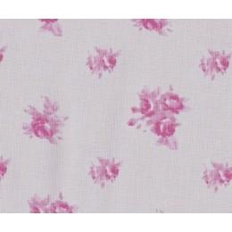 Tissu Roses gris