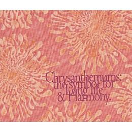 Tissu Chrysantèmes 3076NE