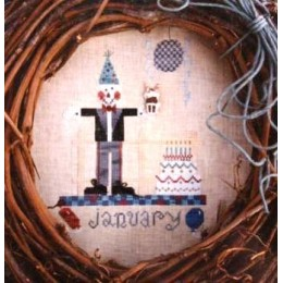 Scarecrow of the month:January