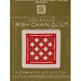 Keepsakes Irish chain quilt